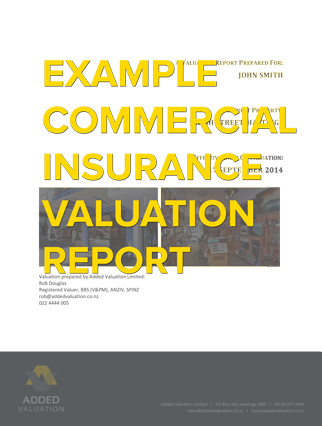 Sample commercial insurance report