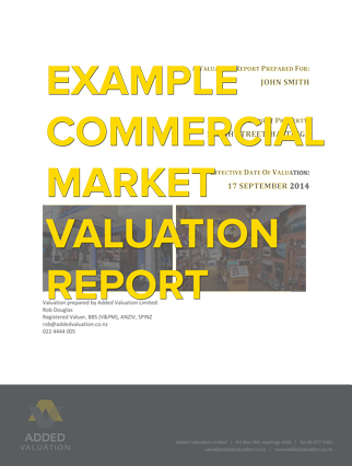 Commercial Market Valuation  Added Valuation